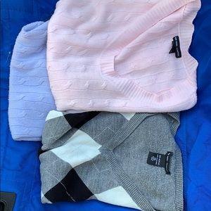 3 new york co lite sweaters xs